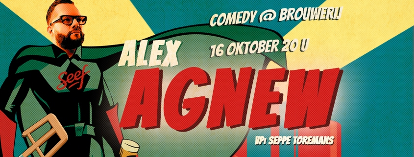 Alex Agnew comedy at the brewery